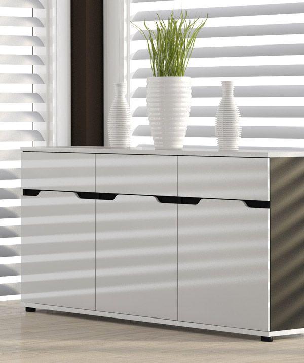 die besten 25 kommode schwarz hochglanz ideen auf pinterest ikea sideboard wei hochglanz. Black Bedroom Furniture Sets. Home Design Ideas