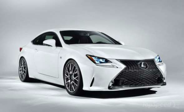 2016 Lexus RC F Coupe White  Cars What is and Sports