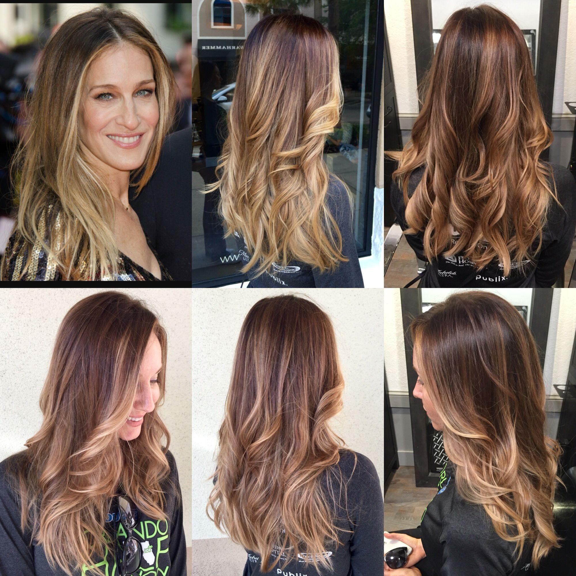 Hair Inspiration From Sarah Jessica Parker Balayage