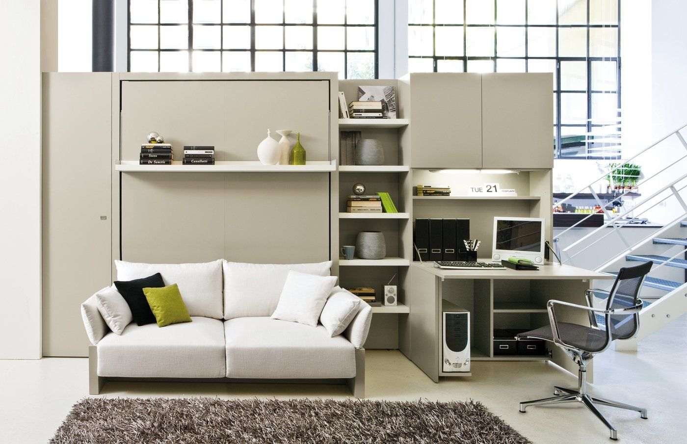 Nuovoliola 10 in 2020 Living room office, Home office