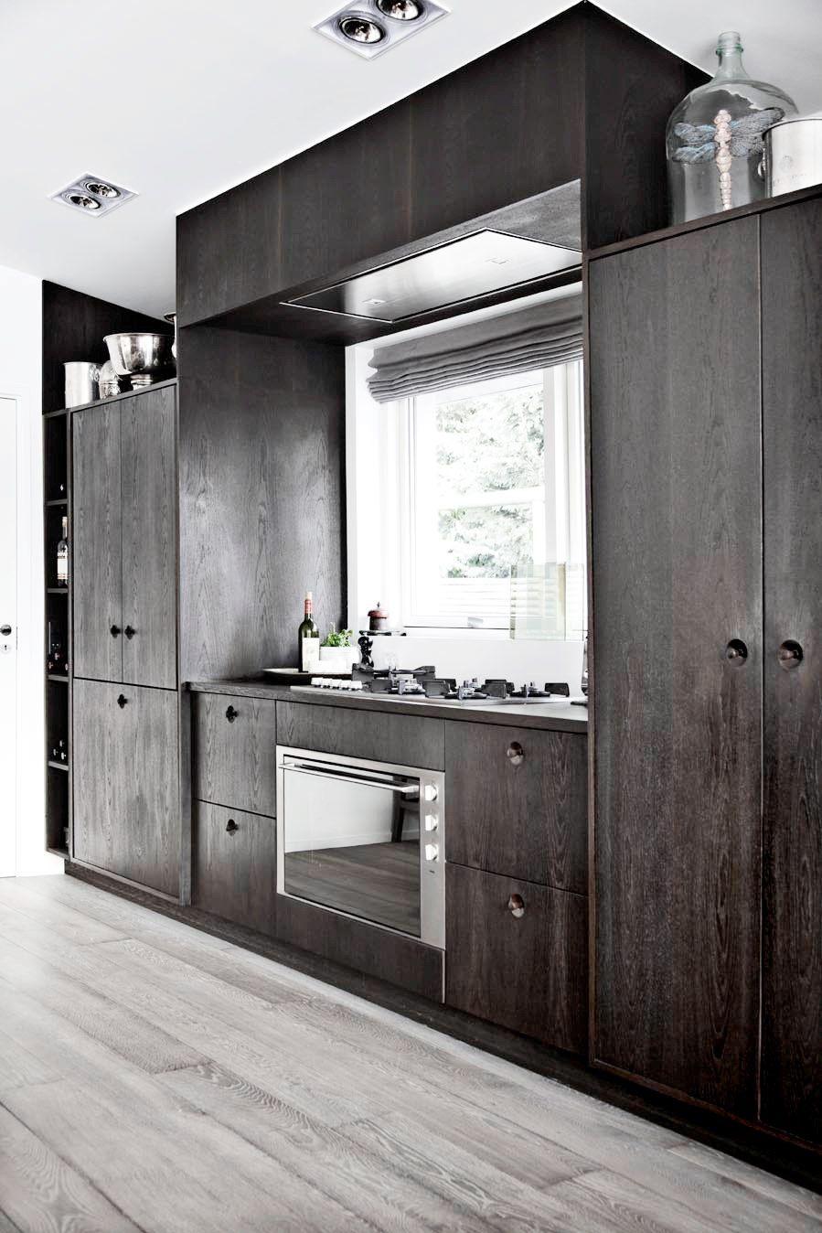 Modern Rustic Kitchen Smokey Cabinets Kitchen Inspiration Design Modern Wood Kitchen Unfinished Kitchen Cabinets