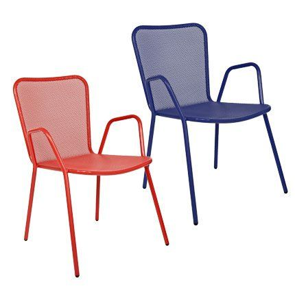 Chaise de jardin Bedelia – Habitat | Époxy, Orange et Chaises