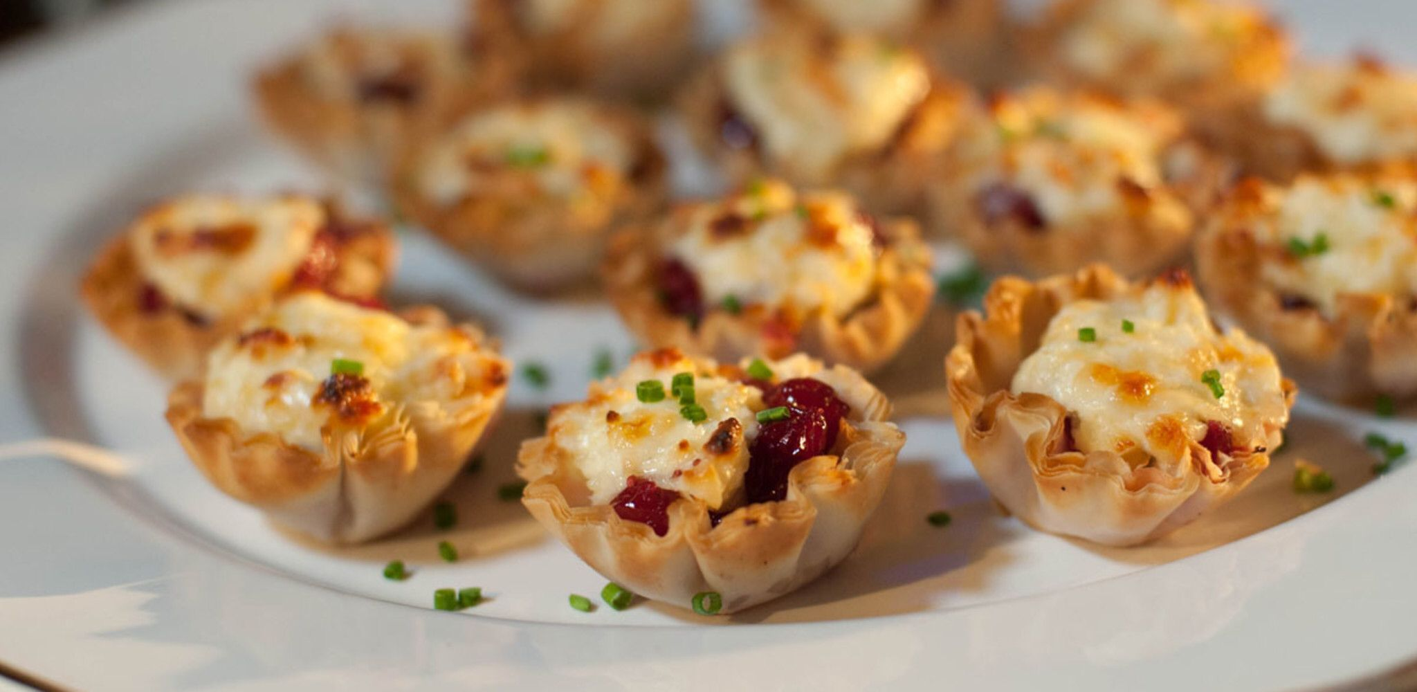 Toasted Gruyere And Cranberry Cups Recipe Food Network Recipes Easy Holiday Recipes Appetizer Bites