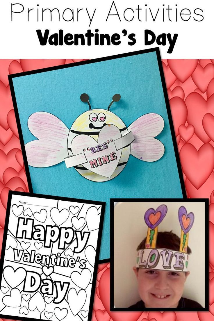 Valentine\'s Day Worksheets Activities & Crafts