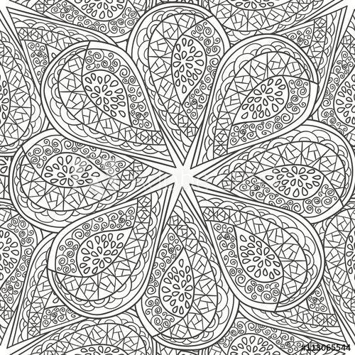 Mandala Colouring Book The Range Trend
