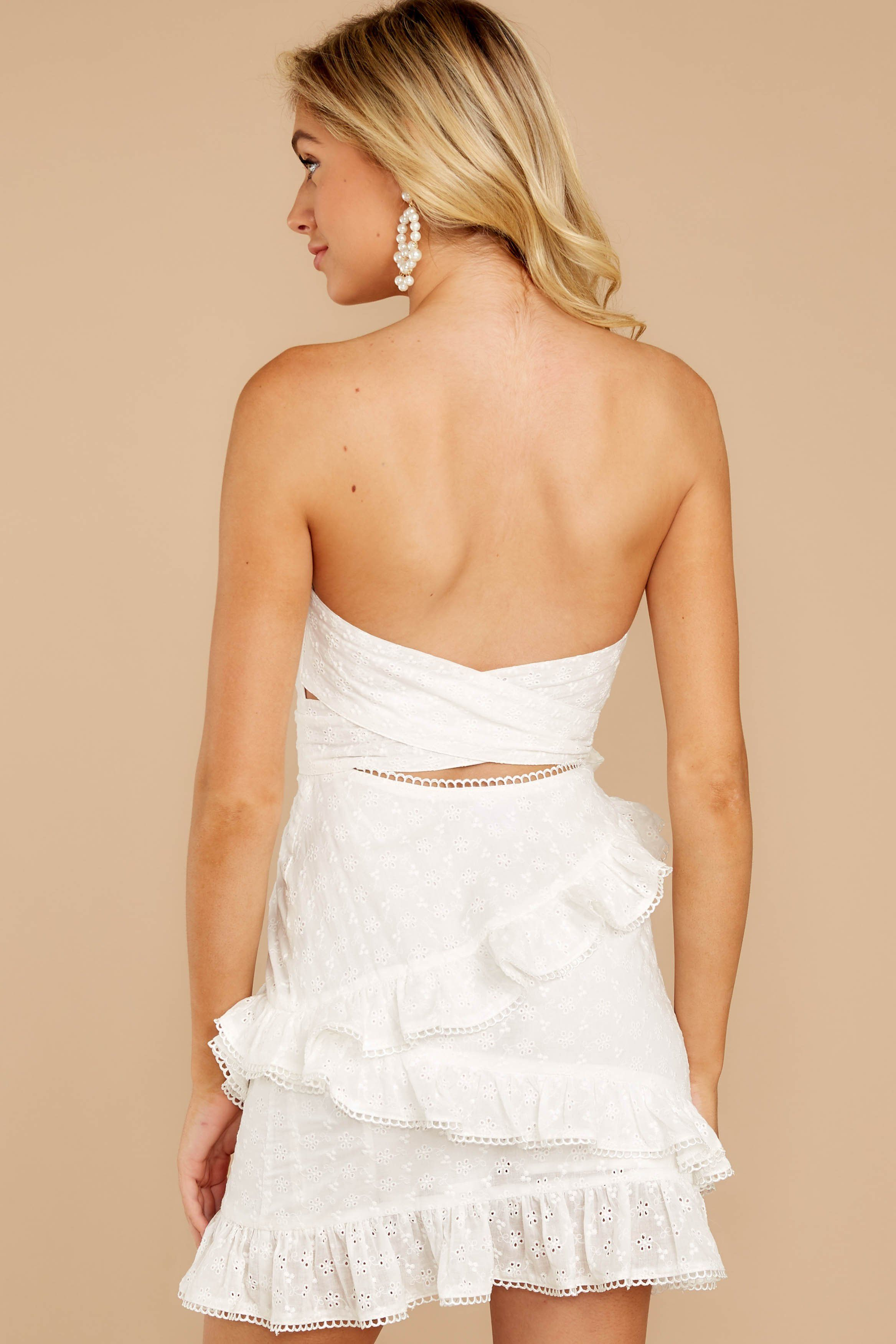 Chic White Eyelet Lace Dress Short Strapless Dress Dress 58 00 Red Dress Strapless Dresses Short Short Lace Dress Eyelet Lace Dress [ 3502 x 2335 Pixel ]