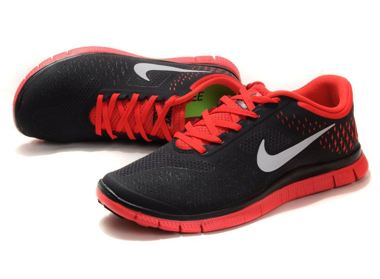 Image result for black & red nike shoes