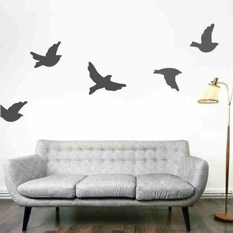 Make Your Inside Wall Feel Like An Outdoor Paradise With The Flying Birds Wall Decals!  Visit this link for more designs: https://limelight-vinyl.myshopify.com/