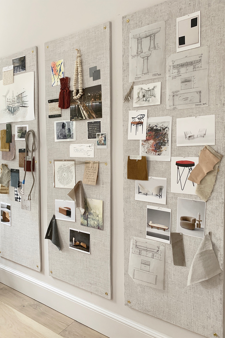 The Swooniest Pin Boards | EyeSwoon | Design studio office