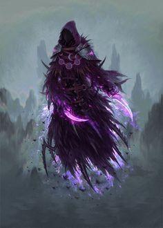 A Reaver Reaper Ghost Dementors Fantasy Monster Art