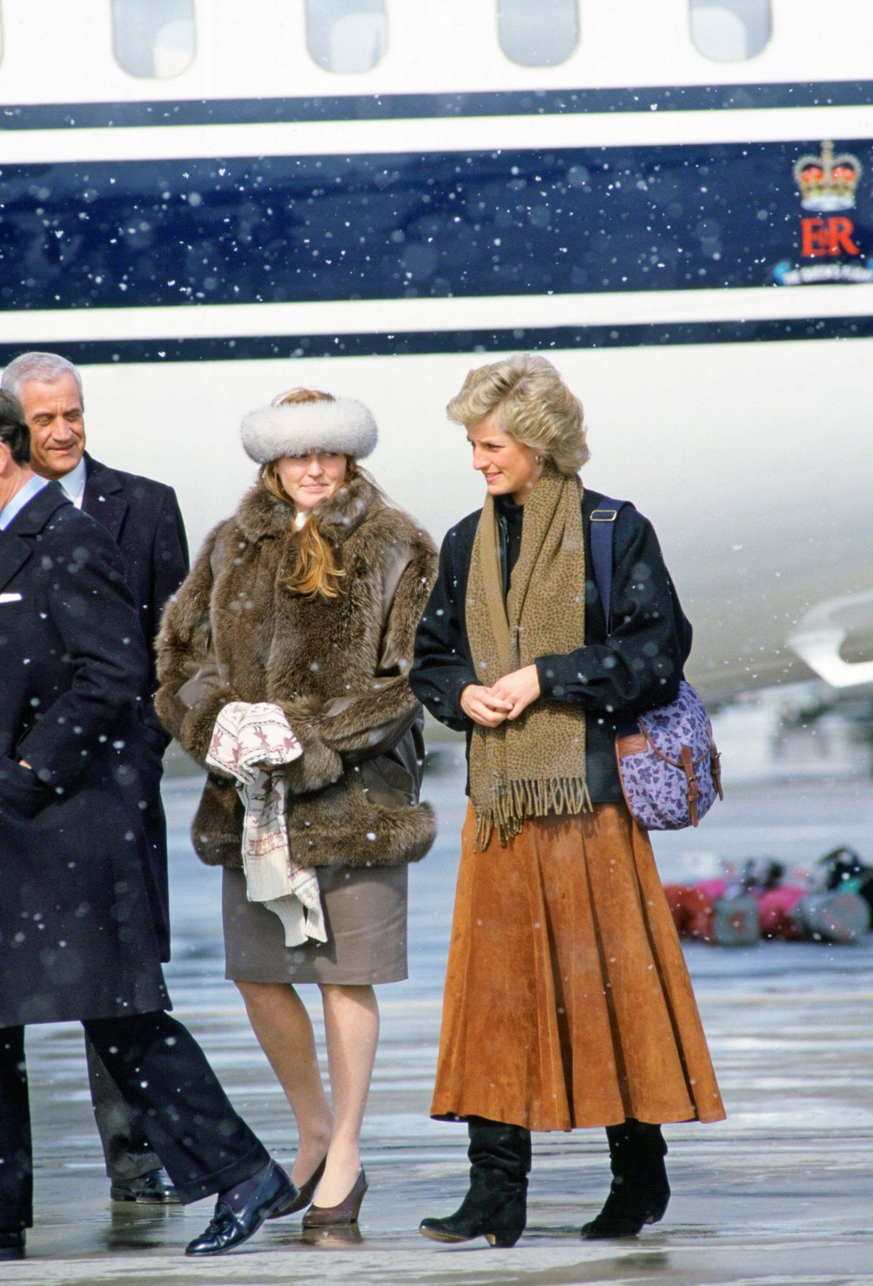Princess Diana and sisterinlaw Sarah Ferguson, Duchess