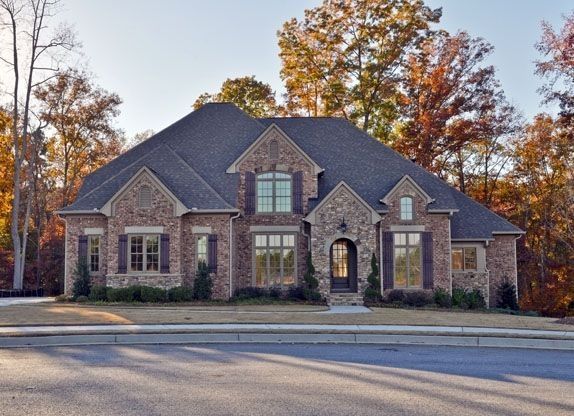 Ranch Homes With Brick And Stone Exterior Aname Lot Number