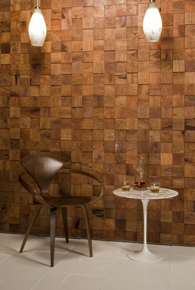 Mesquite Tile from Ann Sacks Woods Walls and Ceiling
