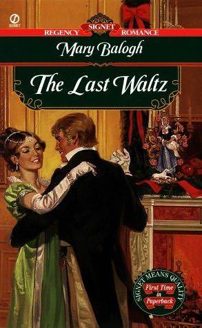 Mary Balogh - The Last Waltz / #awordfromJoJo #HistoricalRomance #MaryBalogh