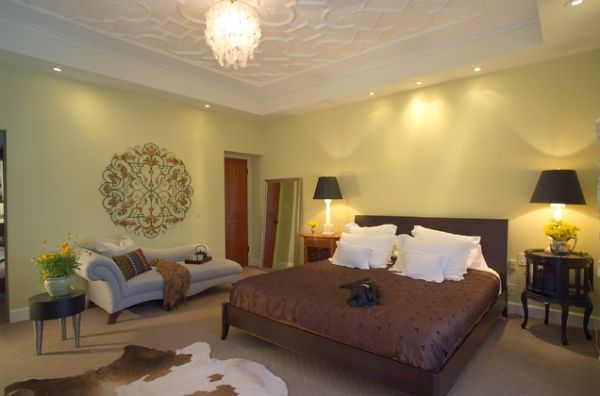 Ideas For Diy Ceiling Transformations Contemporary Bedroom Home Ceiling Tile Bedroom