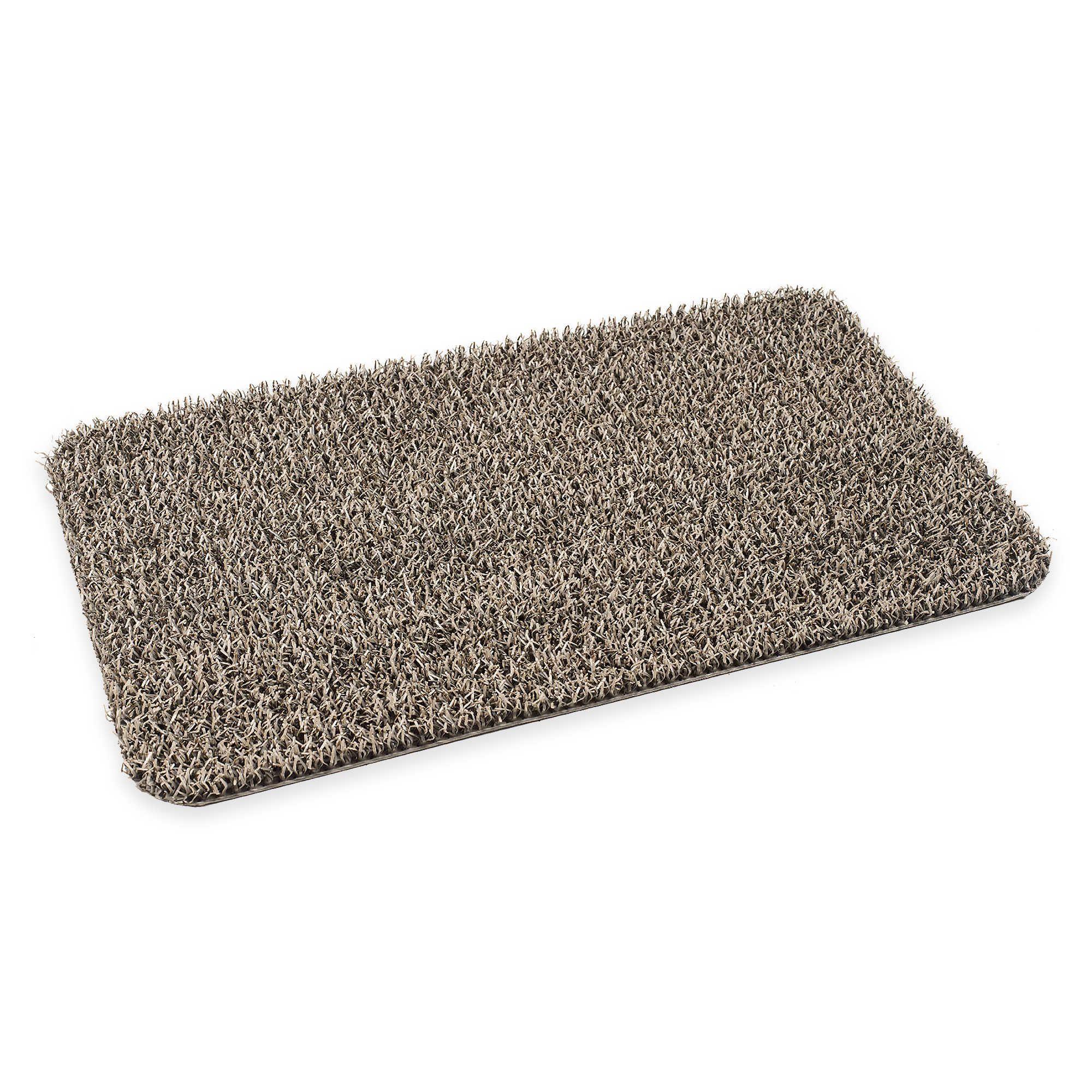 18 Inch X 30 Inch Medium Flair Earth Door Mat In Taupe Door Mat Bedding Shop Bed Bath And Beyond