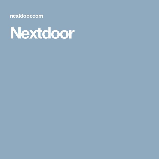 Nextdoor Social networks, The neighbourhood, Community