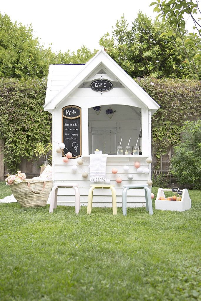 A Costco Playhouse Gets a Charming Scandi Makeover (With