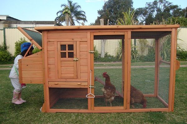 Portable Chicken Coops - Love the pull-out tray at the bottom of the coop.  It's a metal tray for easy cleaning and removal of soiled straw. - Portable Chicken Coops - Love The Pull-out Tray At The Bottom Of The