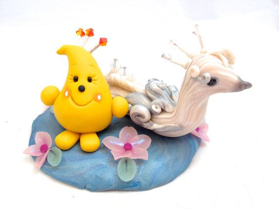 Peacock & Parker Figurine - Polymer Clay Character StoryBook Scene - Limited Edition Sculpture
