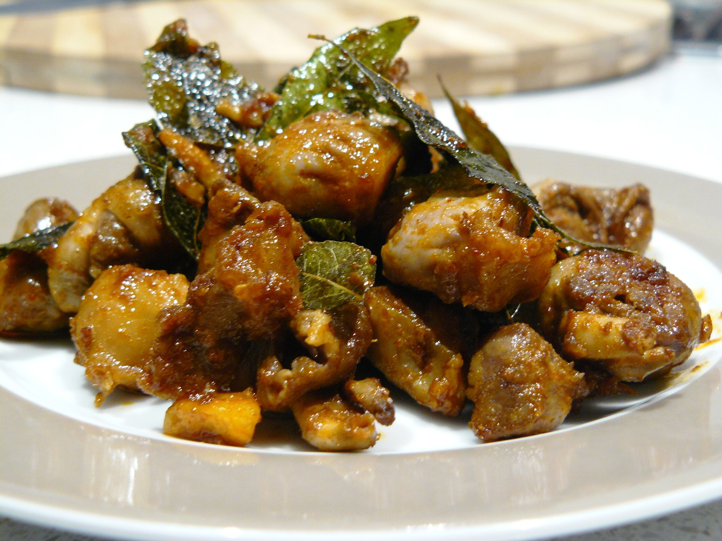 How much stew chicken hearts: rules and methods of cooking offal 45