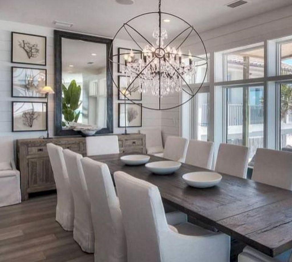 39 Brilliant Farmhouse Living Room Lighting Design Ideas