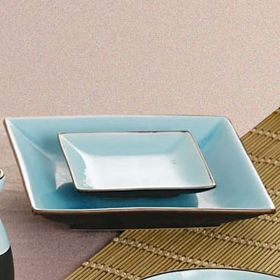CAC China 666-8 - Japanese Style Square Plates - 9 $326.35 Case (24 ...