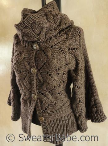 Kimono Sleeve Sideways Cardigan and Cowl   My Style   Pinterest   Kaufen