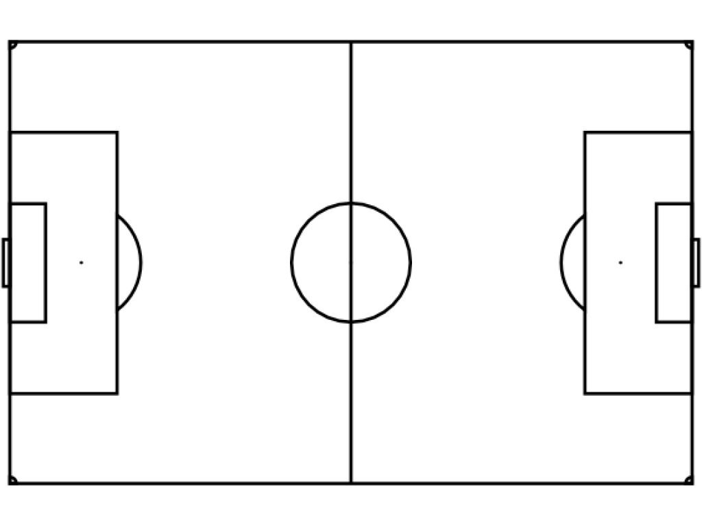 Free Blank Soccer Field Diagram, Download Free Clip Art