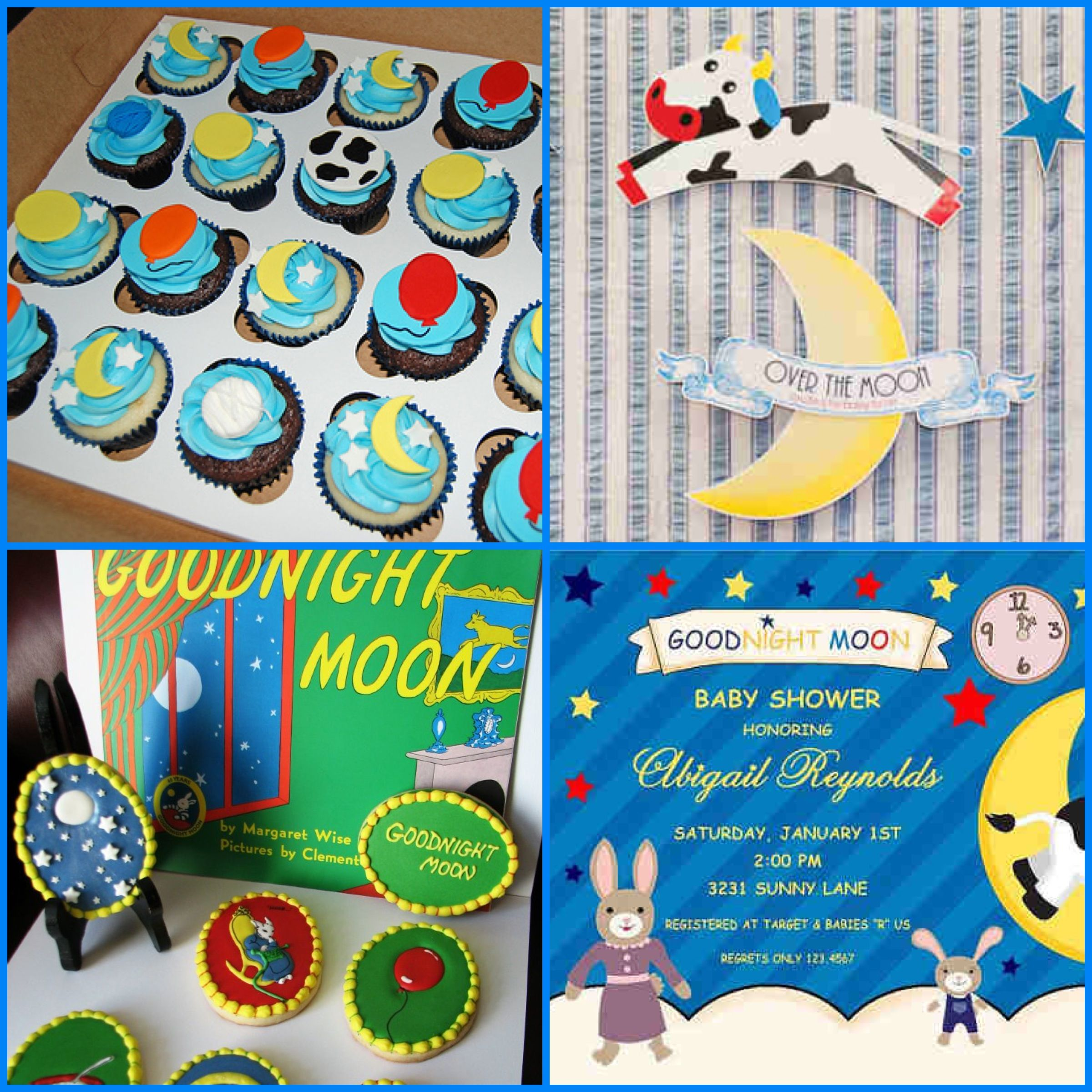 Goodnight Moon Baby Shower Party Ideas Baby Shower Themes