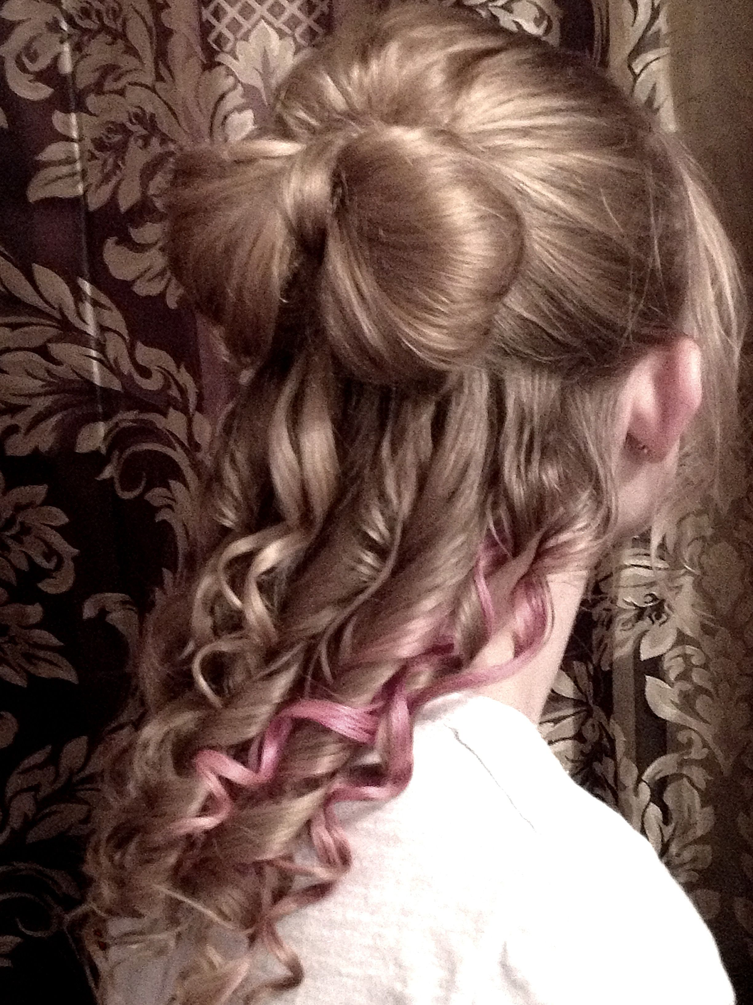 My homecoming hair bow hairstyles pinterest hair bow