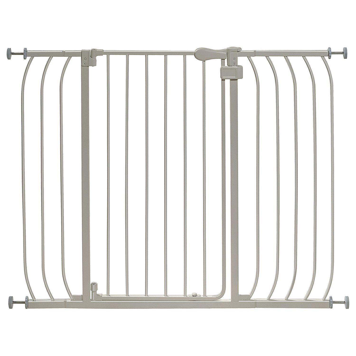 Summer Infant Multi Use Extra Tall Walk Thru Gate Silver See This
