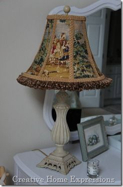 Lampshade Recovered Lamp Shade Crafts Lace Lampshade Lampshade Makeover