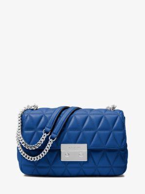 8c1b5eb83904 MICHAEL MICHAEL KORS Sloan Large Quilted-Leather Shoulder Bag.   michaelmichaelkors  bags  shoulder bags  leather  polyester  lining