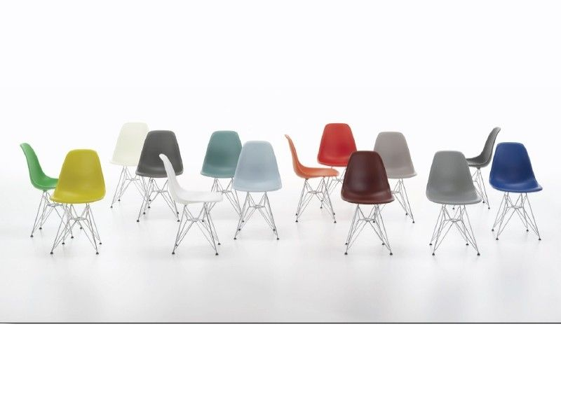 Eames Plastic Side Chair Dsr Stuhl Vitra Abverkauf Eames Stuhle Einrichten Design