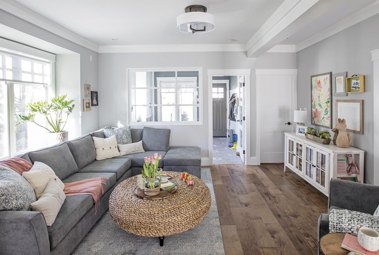 How a Family's Cramped Main Floor Went From Dated to Dreamy images