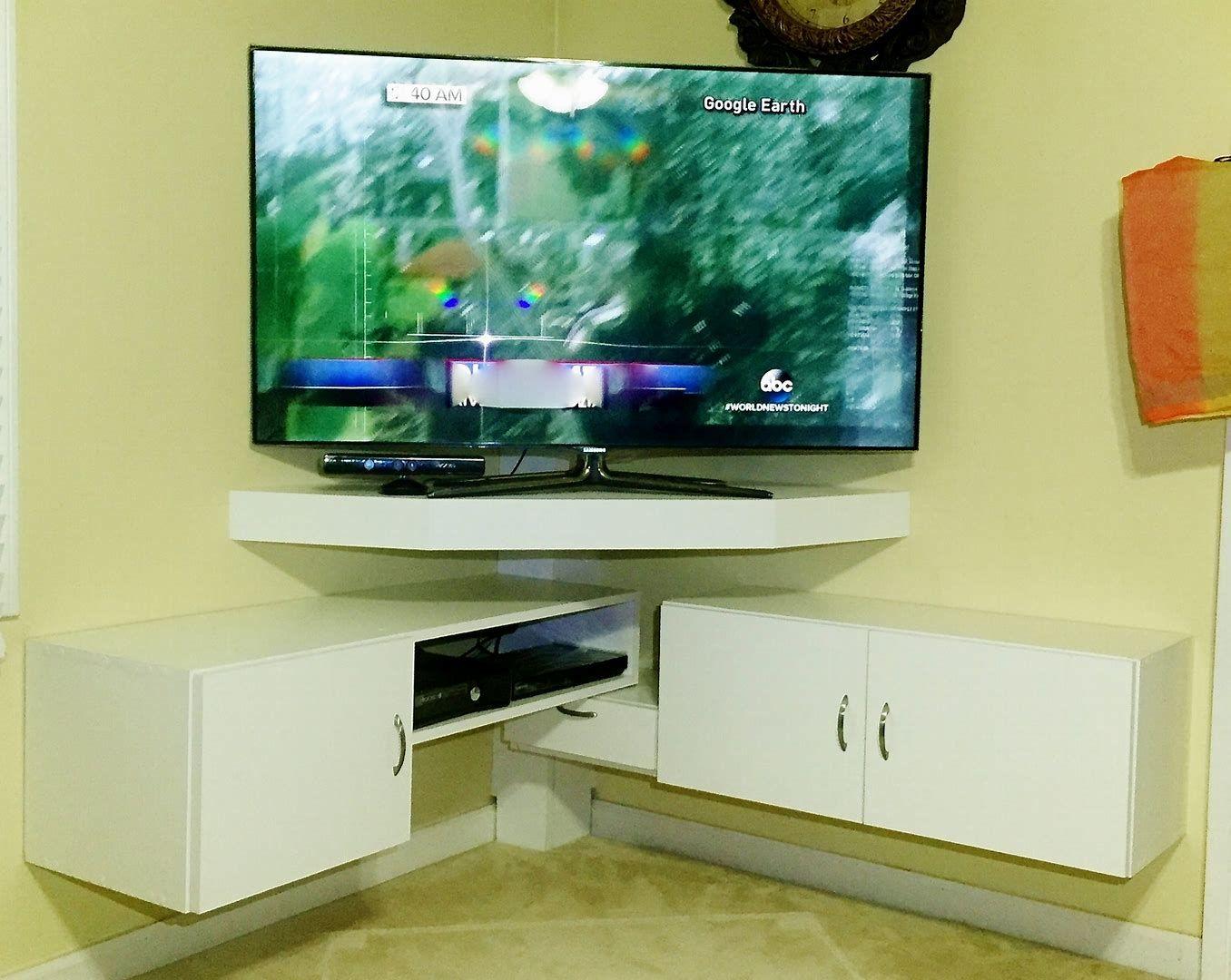 Image Result For Corner Tv Mount Corner Tv Unit Corner Tv Stands