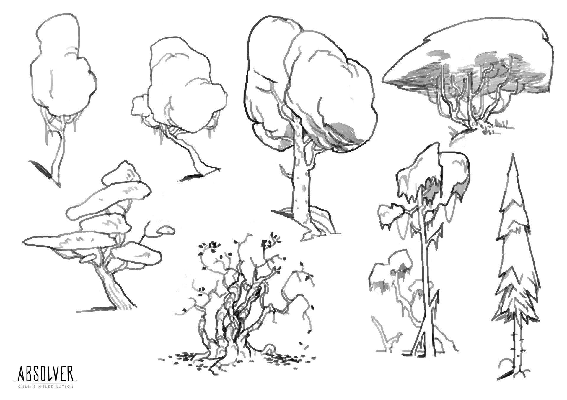 Новости Environment sketch, Landscape sketch, Scene design