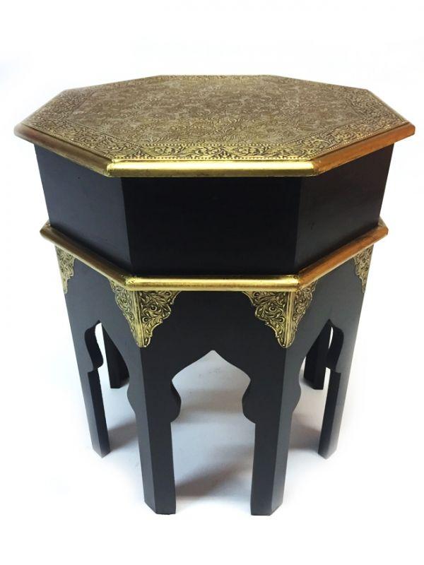 Orientalischer beistelltisch huwaidah mittel 40cm orientalische tische einrichtung - Wohnzimmer orientalischer stil ...