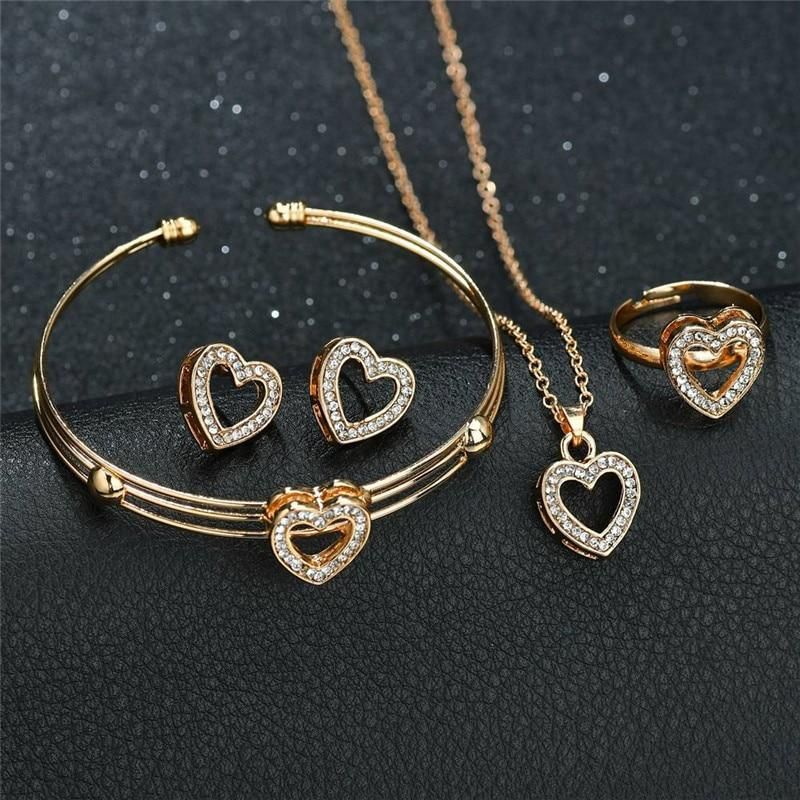 Handmade Jewelry Set with Bracelet and Earrings 6S