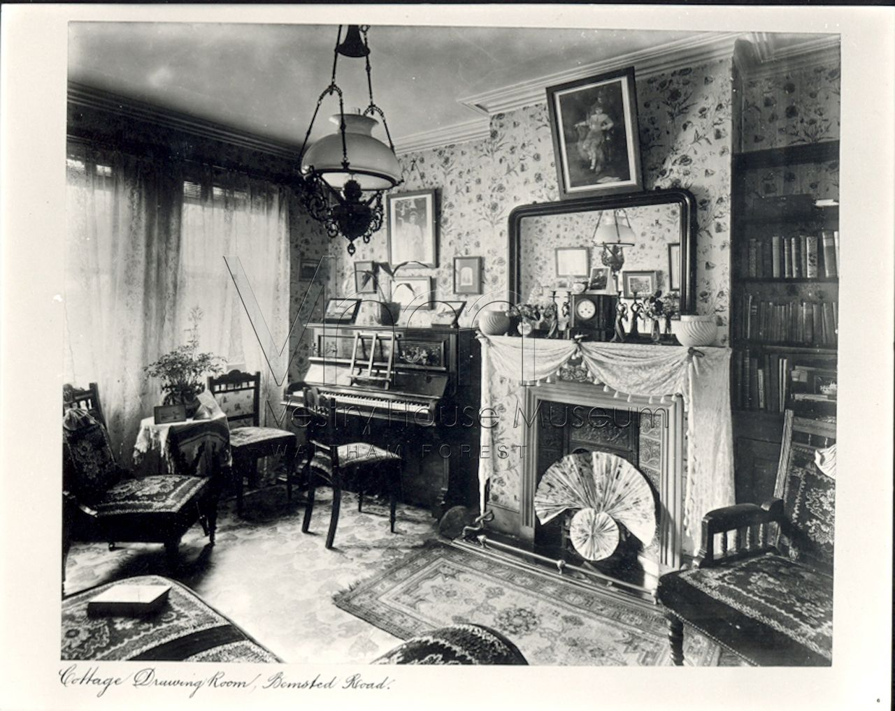 9c48f2f15e Edwardian parlour 1900s | Victorian Interiors | Victorian house ...