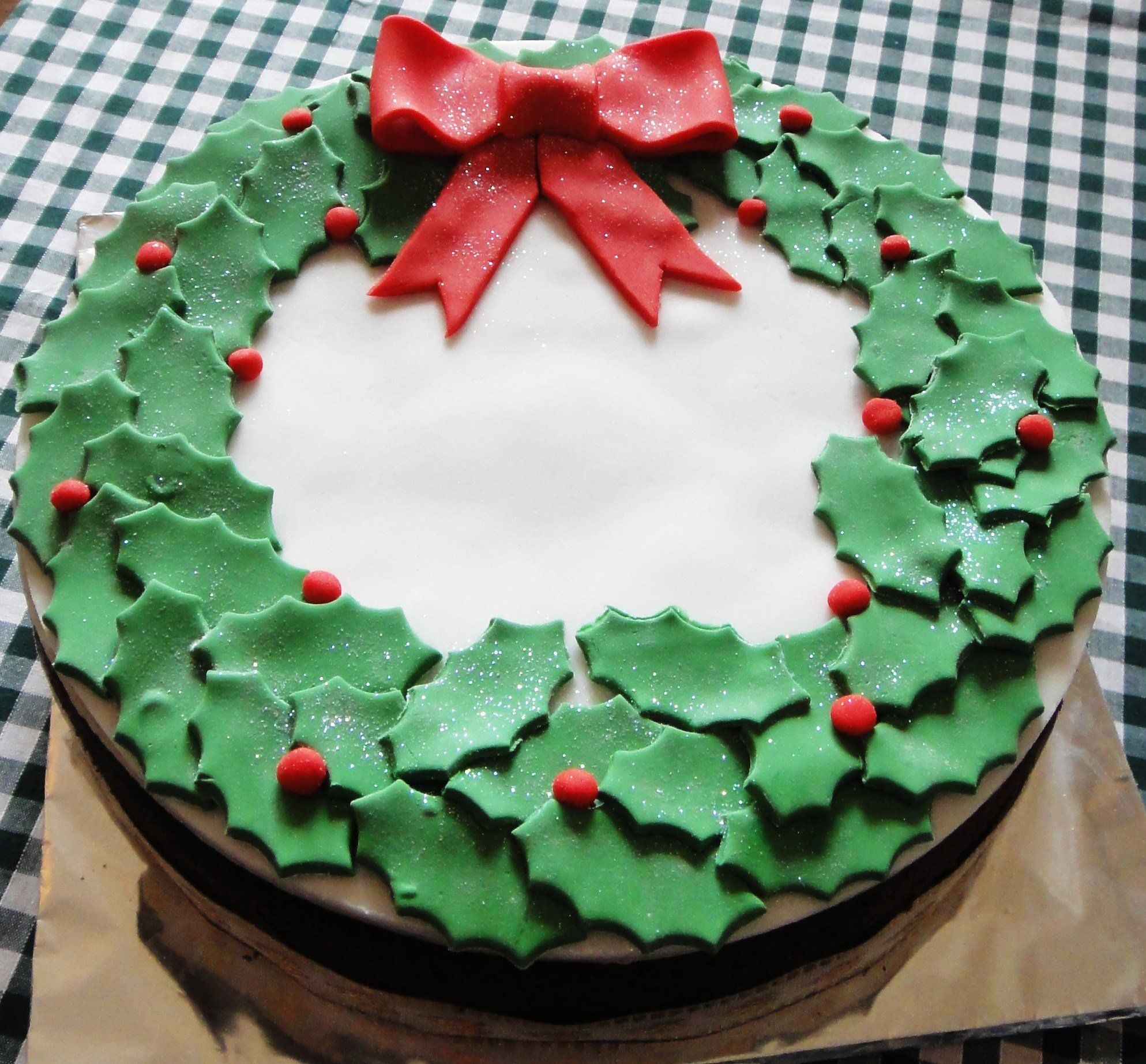 Easy cake for christmas