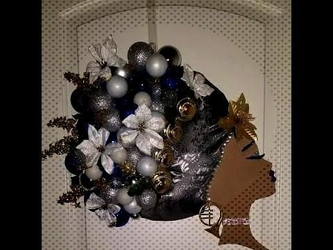 Diy: Part 5 Afro Diva Christmas Wreath  Diy: Part 5 Afro Diva Christmas Wreath – YouTube