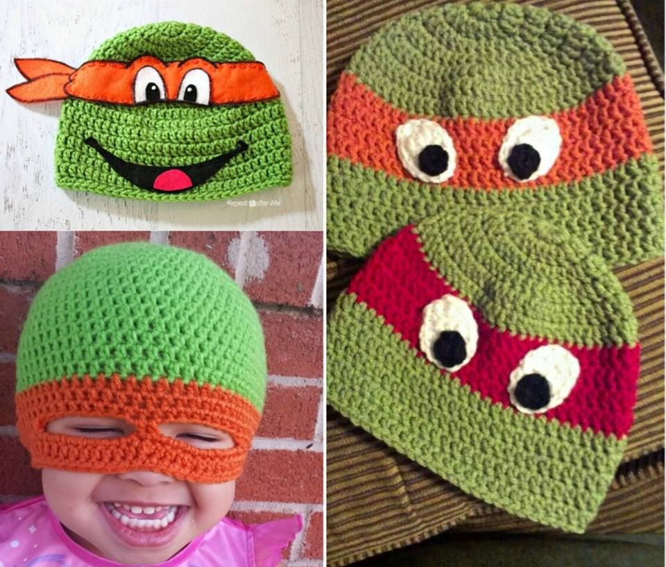 Ninja Crochet Pattern Free Tutorials and Great Ideas | Mütze ...