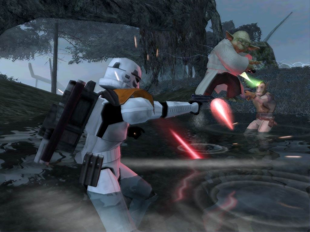 Blast From The Past Star Wars Battlefront 2 2005 Star Wars