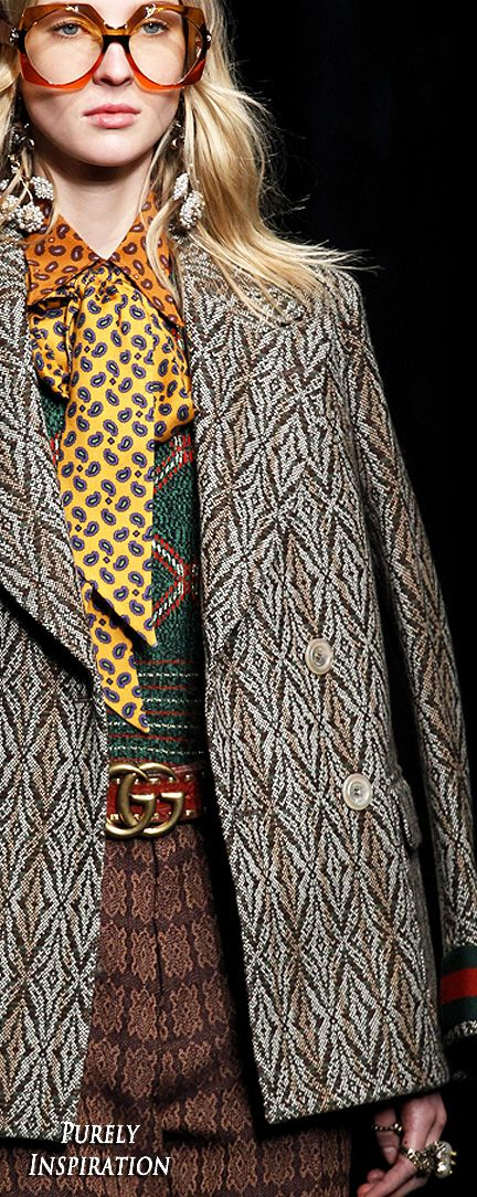 Gucci FW2016 Women's Fashion (details) RTW | Purely Inspiration