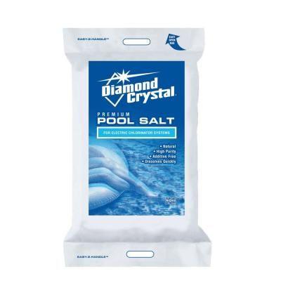 Diamond Crystal 40 Lb Pool Salt 100011437 At The Home Depot Diamond Crystal Crystals Saltwater Pool