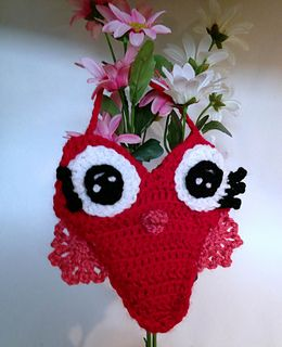 Ravelry: Owl Love You 4Ever Mini Purse pattern by Carla Hester