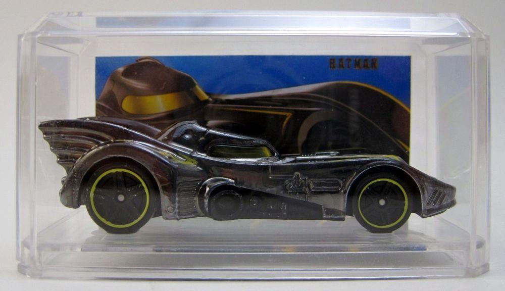 Batman Batmobile Chrome Custom Hand Made 2015 HOT WHEELS W