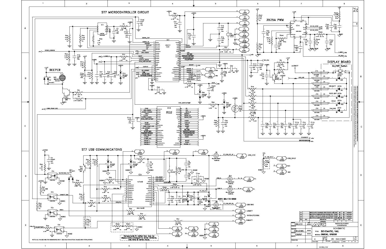 Ups Schematic Circuit Diagram Beautiful Apc Smart Ups 1500